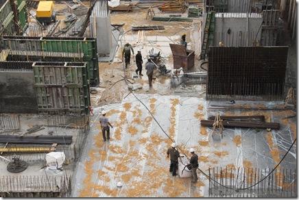 _MG_0021   עובדים באתר בניה באחד העם 16