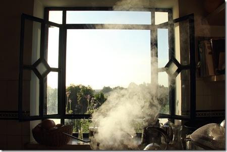 _MG_0006 בוקר מחלון המטבח ואדי הקומקום